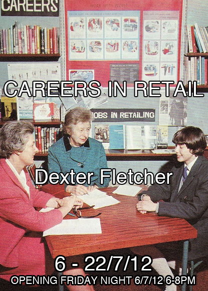Flyer, Careers in retail, Dexter Fletcher, 55 Sydenham Rd Marrickville