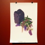 Ian MillissBuddleia and Lump of Coal,  2012inkjet on paper