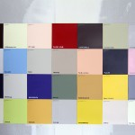 An A-Z of the Non-Property Owning Classes, Represented as a Paint Chart100 paint colour swatches DEXTER FLETCHER, 2013