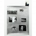 Screen Memory (2014) pigment inkjet prints, offset print, colour photograph, photocopy, metallic thread, enamel, brass grommets