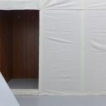 Modesty Knott Pine Gap mixed media installation Ruth McConchie, 2014