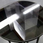 Pavilions (transparency study I) acetate, mirror, timber Consuelo Cavaniglia, 2015