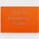 A pact for representative maladies, 2015 acrylic paint on birch panel