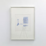 Lucas Ihlein  He Lost His Leg, 1999  screenprint on paper