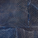 Luke Parker Solar plexus, 2016 (detail)  cyanotype on watercolour paper, wheat paste
