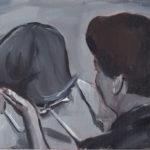 Jovanka, 2011 Oil on canvas paper, 29.7 x 21 cm