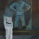 Papa, 2012 Oil on canvas paper, 42 x 59.4 cm