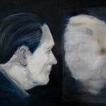 Roland's mother, 2012 Oil on canvas paper, 59.4 x 42 cm