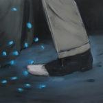 Point, 2010 Oil on canvas, 50 x 45 cm