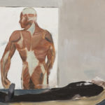 Strength, 2012 Oil on canvas paper, 59.4 x 42 cm