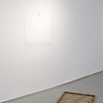 Untitled, 2013canvas, stretcher, paint, wire, dust, nail